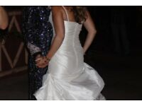 Ivory Silk Wedding Dress size 8
