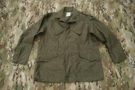 Vintage (like new) Dutch Army M53 Field Jacket in Size Large