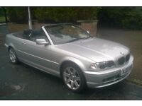 2003 BMW 318 CI **CONVERTIBLE** 10 MONTHS MOT *2017* LEATHER, FULLY LOADED.