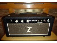 Dr. Z Monza 30 watt valve head 2010 original non master volume mode