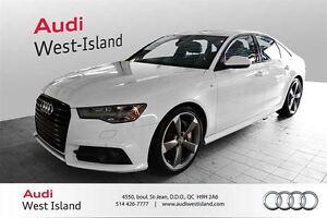 2016 Audi A6 3.0T TECHNIK S-LINE, SUSPENSION SPORT