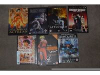 Japanese/Manga/Other DVDs x 7