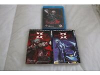 Devil May Cry Manga books Code 1 Dante & Code 2 Vergil + DMC Blu Ray Animated Series