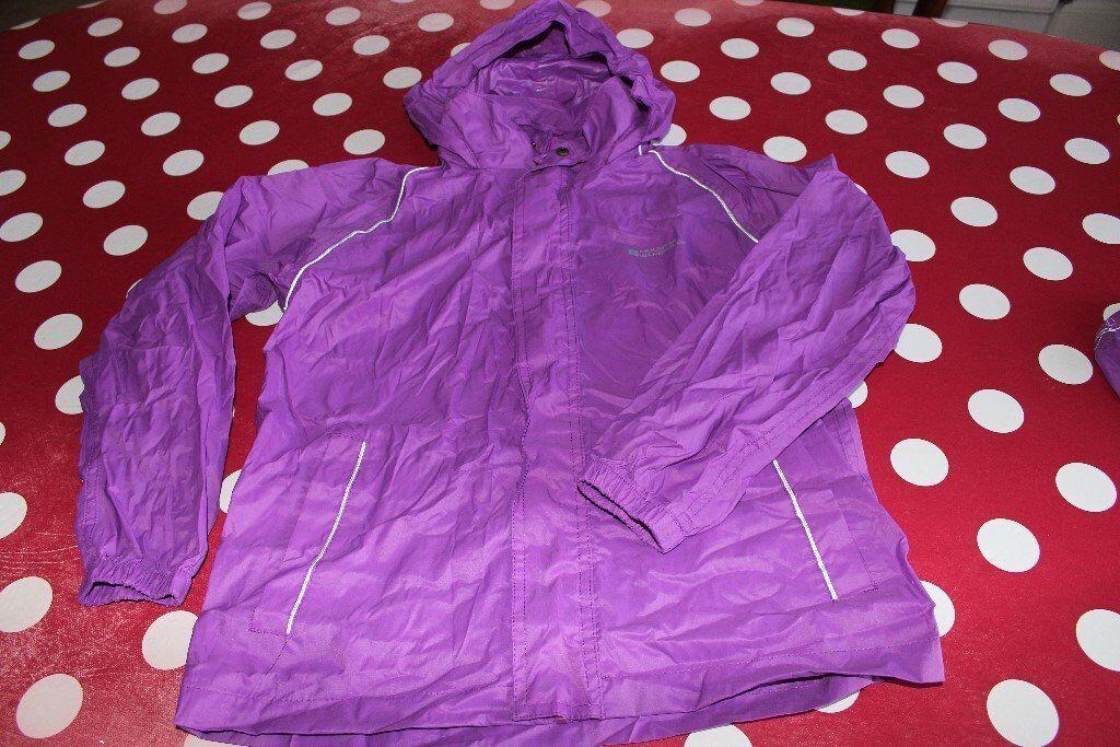 fa0ef7c03 Mountain Warehouse Pakka Jacket Age 9-10 years Purple | in ...