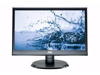 "AOC E960SRDA 19"" Square LED 1280x1024 VGA DVI Speakers Monitor"