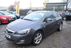 2012 Vauxhall Astra 2.0 CDTi ecoFLEX 16v SRi 5dr (start/stop) Finance Available / Year MOT
