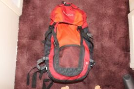 50 Litre Backpack, Hiking, Travel Luggage Carrier - Used a FEW times, GREAT CONDITION