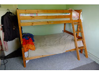Thuka pine bunk beds £100