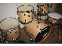 "Yamaha Stage Custom Advantage Nouveau Natural 5 Piece Drum Kit (22"" Bass) - DRUMS ONLY"