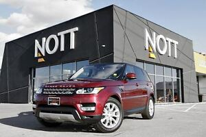2016 Land Rover Range Rover Sport DIESEL Td6 HSE, LOW KM, Moonro