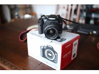 Canon EOS 500d and 18-55 lens