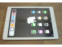 iPad Air 16gb in silver wifi