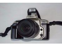 Nikon F60 camera body and Nikon AF Nikkor 35-80mm lens