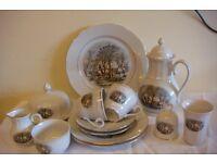 1970's Vintage Crown Bavaria Porcelain