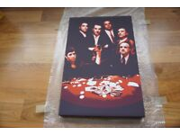 Scarface, The Godfather and Goodfella canvas print