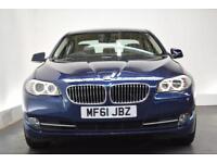 BMW 5 SERIES 2.0 520D SE 4d 181 BHP (blue) 2011