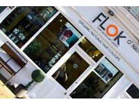 Rent a Chair Hairdresser Required at Flok Salon and Art Gallery