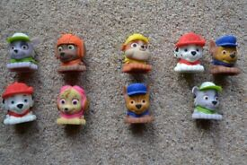 """Paw Patrol Mash'Ems """"Super Squishy"""" collectibles - Complete set + 3 Extras"""