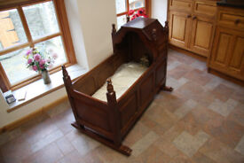 Unique, Bespoke, Handmade, Tudor Style Cot