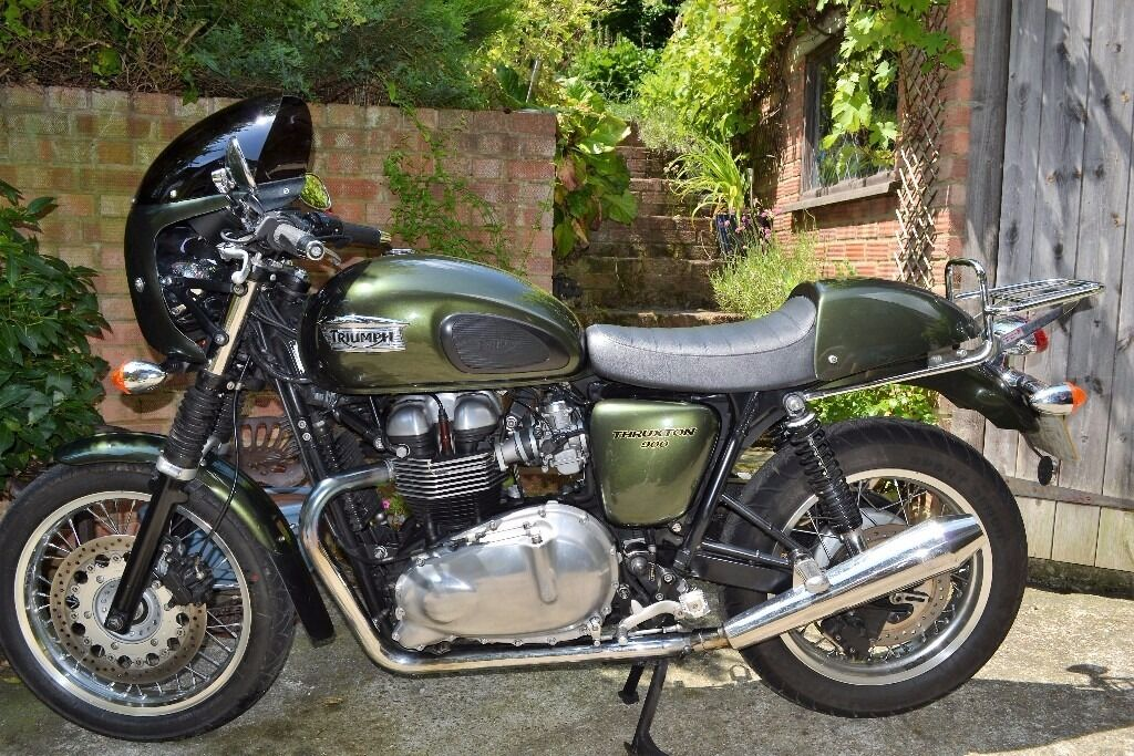 triumph thruxton 900 efi bob farnham tune much more not to be missed in rochester kent. Black Bedroom Furniture Sets. Home Design Ideas