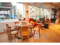Cafe to rent in the centre of Bristol, Pithay Studios, Meanwhile Creative