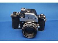 Nikon f plus 50mm Nikkor f1.8