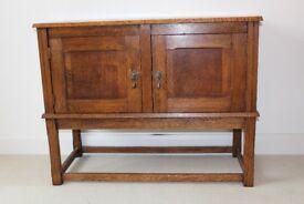 Antique - Oak Cabinet
