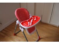 Baby High Chair with table