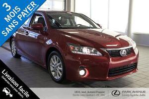 2012 Lexus CT 200h * 100$/semaine garantie 3 ans/60000 km *