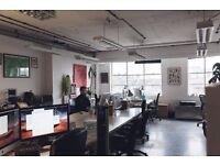 Large artists studio/creative workspace/creative office space/coworking in London Fields, Hackney.