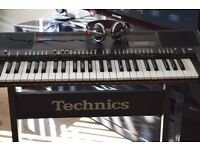 TECHNICS KEYBOARD/STAND/TECHNICA HEAD PHONE/MEMORY PACK