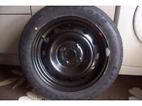 Kia Picanto spare wheel