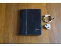 1st Gen Apple iPad 64GB, Wi-Fi + 3G (Unlocked) GRADE A with designer leather carry cover