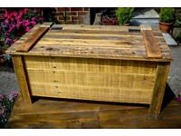 Brand New Hand Made Rustic Pallet Wood Coffee Table/Blanket Box