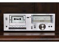 Vintage Sony TC-U2 cassette tape deck - boxed