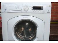 HOTPOINT 7KG WASHER DRYER IN GOOD CLEAN WORKING ORDER 3 MONTH WARRANTY & PAT TESTED