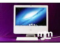 "2GHZ White 17"" Apple iMAC 2gb 160GB ABLETON LOGIC PRO ADOBE CS6 FINAL CUT PRO MICROSOFT OFFICE 2011"
