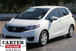 2015 Honda Fit LX + LOW KMS + NO ACCIDENTS + CERTIFIED!!