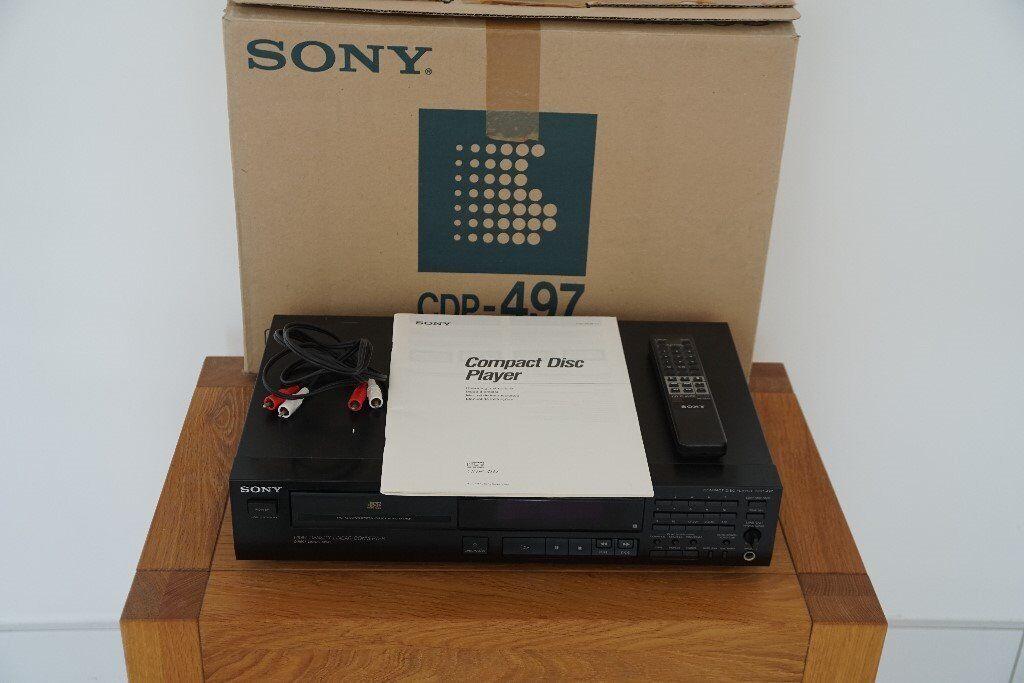 Sony CD Player CDP-497