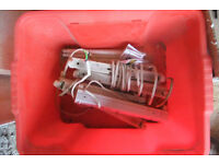 Under cabinet 8w lighting 5 No 300mm fittings and tubes + spares