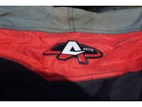 Akito motorcycle jacket in good used condition size XXXL