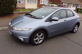 Honda Civic Top Of Range SAT NAV Climate Control Panoramic Roof!