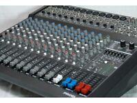 Proel M1000USB 16 Channel 500+500W Powered Amplified Mixer PA Amp + 24bit FX EQ USB 1000W