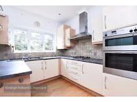 A stunning three bedroom ground floor conversion flat to rent with private garden on Alexandra Park