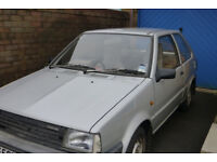 Micra in need of restoration (good engine, body work needs repair, SORN, no MOT)