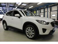 Mazda CX-5 D SPORT NAV [FULL LEATHER - SAT NAV - BOSE] (finished in crystal white) 2013