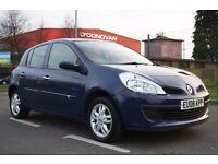 2008 RENAULT CLIO 1.6 AUTOMATIC PETROL, 3 MONTHS WARRANTY.LOW MILEAGE, PX WELCOME