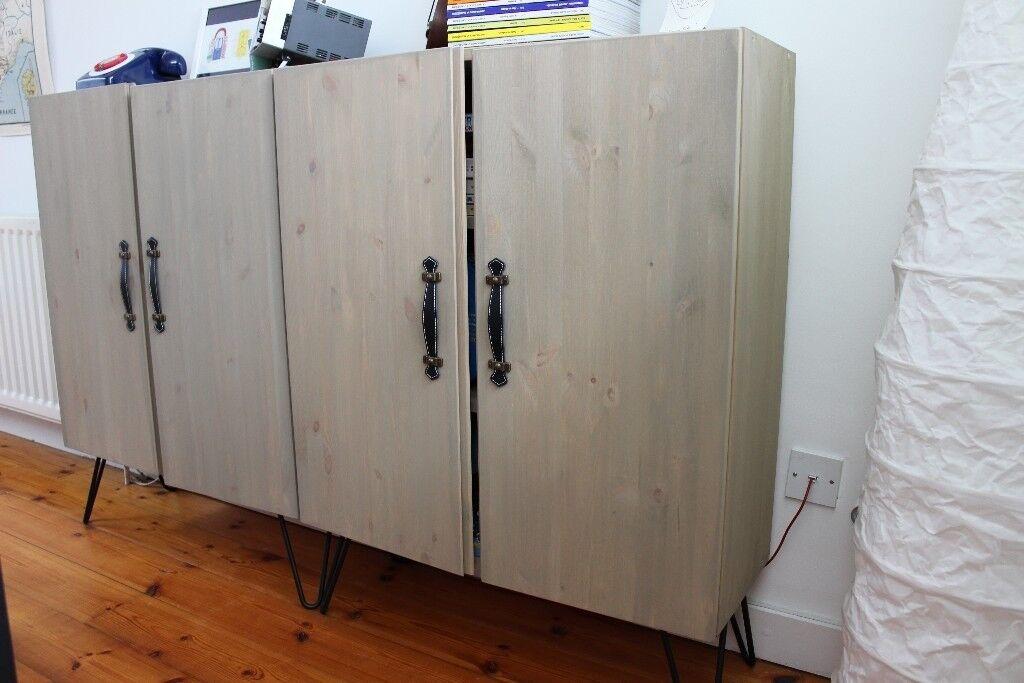 IKEA IVAR customised sideboard cupboard with pin legs in Angel, London Gumtree