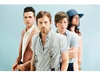 2 X Standing tickets Kings of Leon 2nd July 3 Arena Dublin