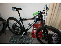 Cannondale SL5 Mens Mountain Track Bike Hardtail MTB Jump Medium